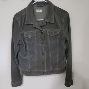 Gap Womens Corduroy Button-up jacket